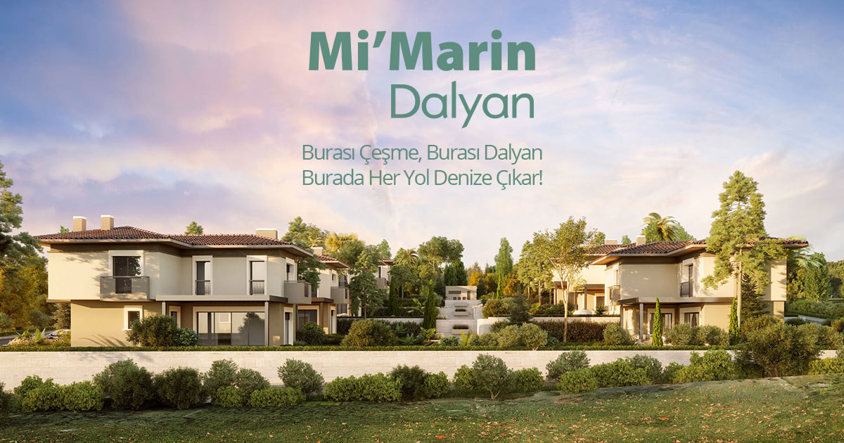 The Name of the privileged life in Çeşme, Mi'Marin Dalyan is waiting for its guests