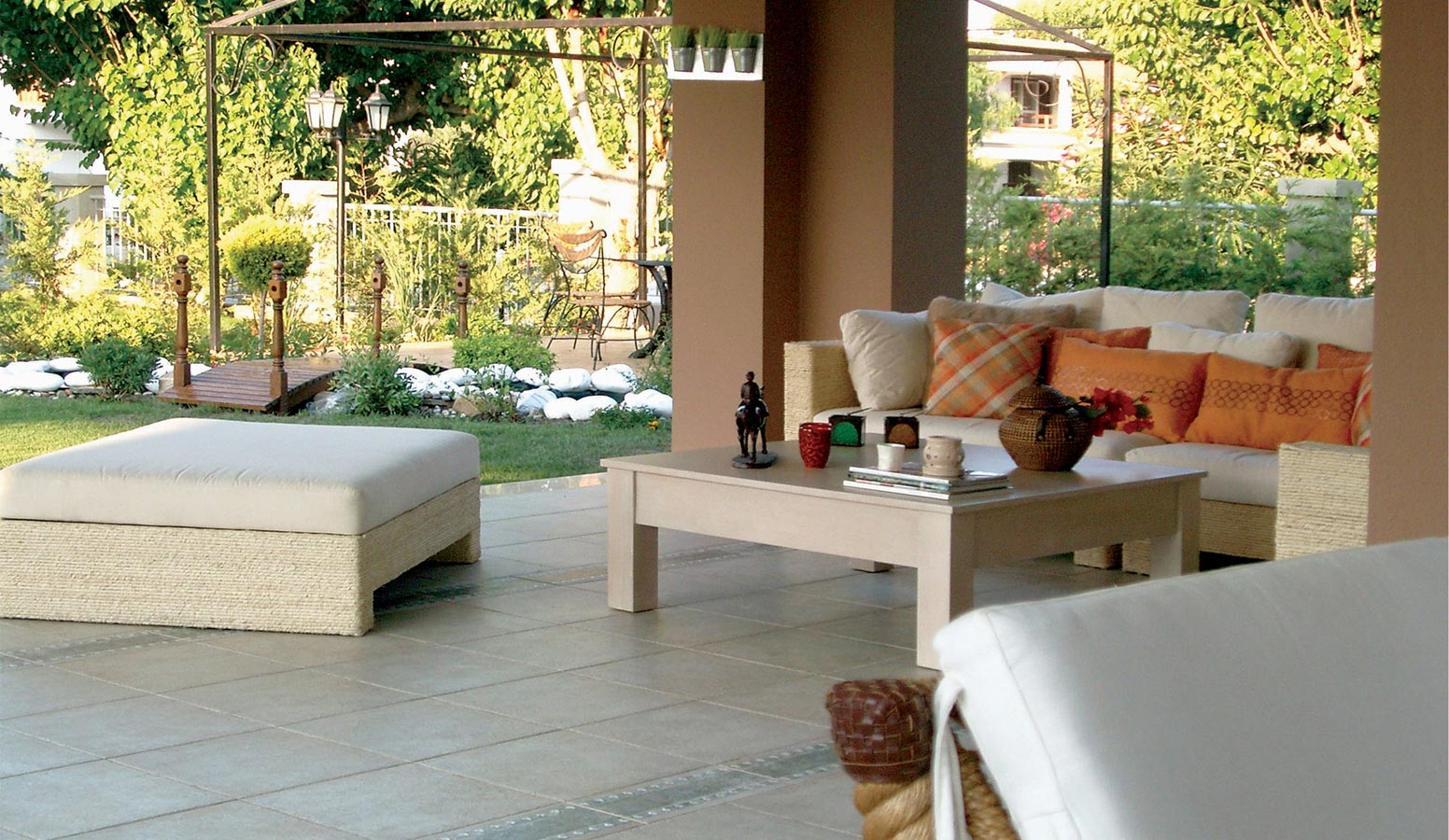 Cyssus Villaları bahçe