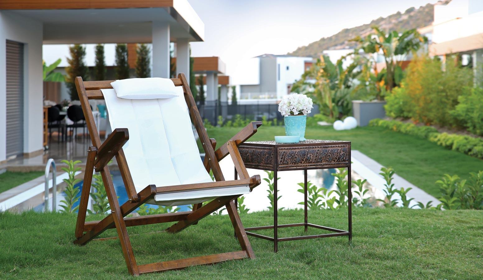 Mi'Marin Ilıca Villaları bahçe