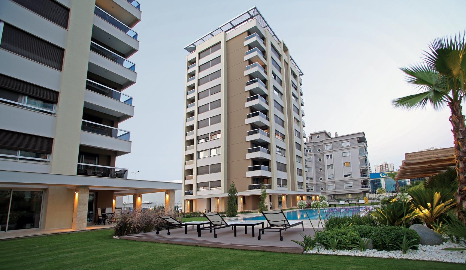 Mi'Marin Mavişehir Residence dış mekan