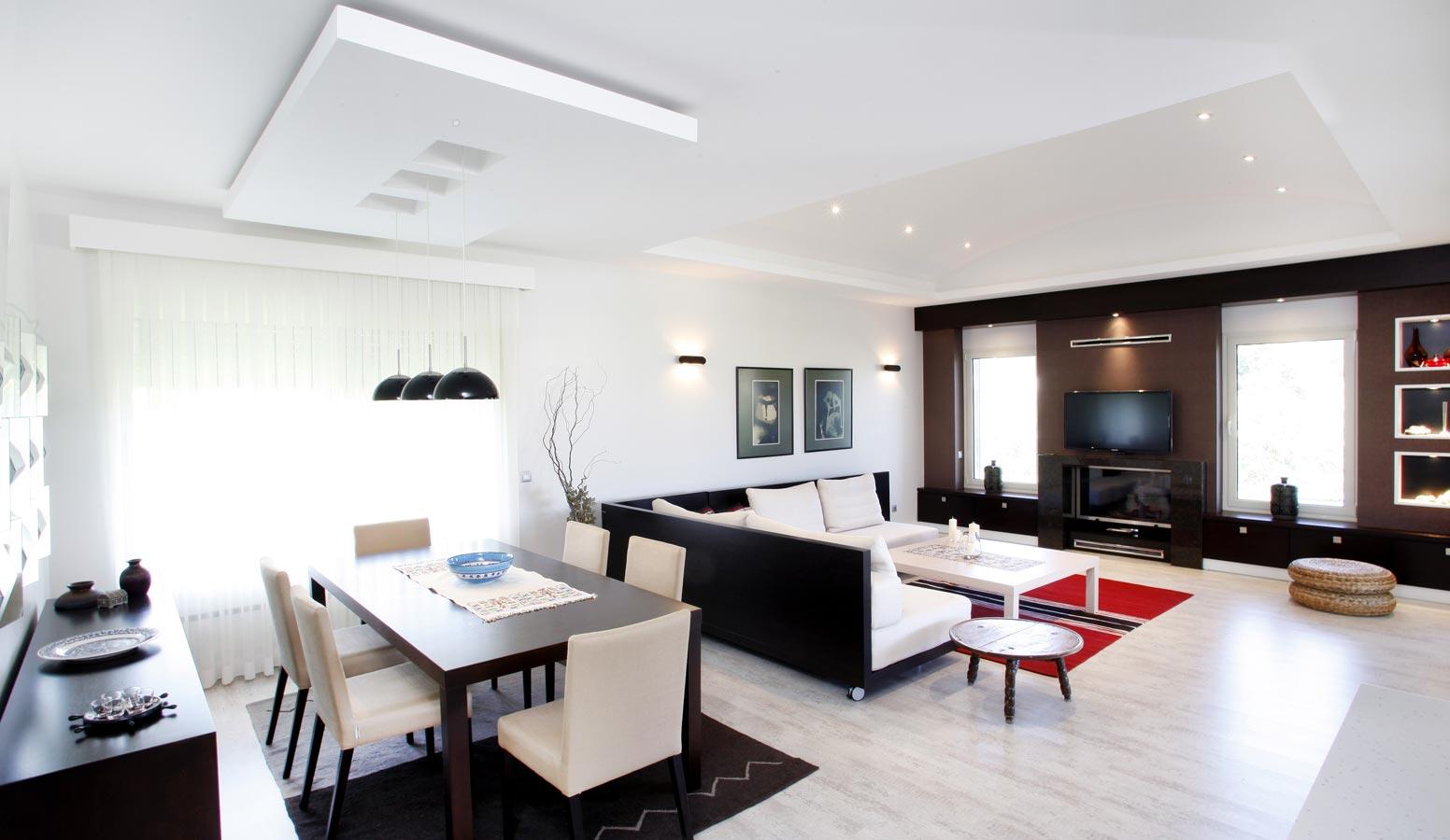 Trio Villaları salon